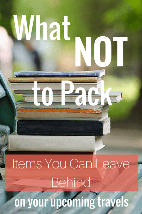 what not to pack