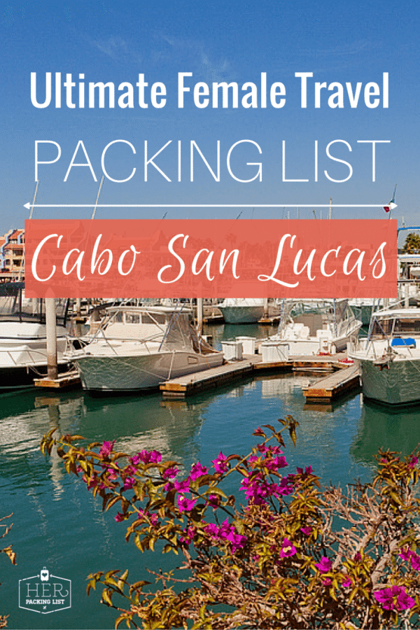 packing list for cabo san lucas