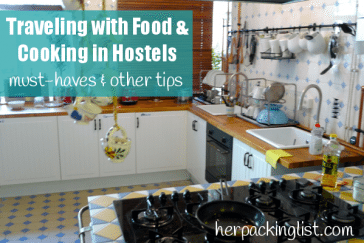 must haves for traveling kitchen