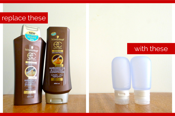 Day 15: Explore Travel Size Hair Products - Her Packing List