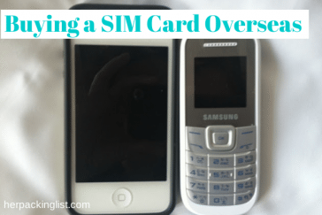 Buying SIM Cards Overseas
