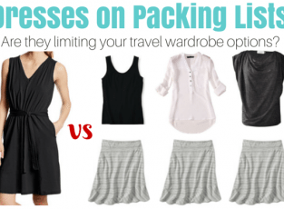 Dresses on Packing Lists