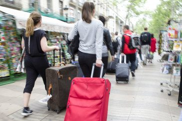 your travel partner's packing style