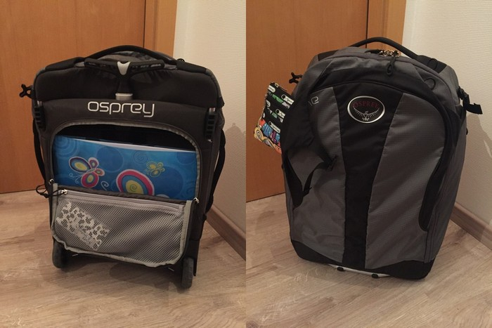 Osprey Ozone suitcase review
