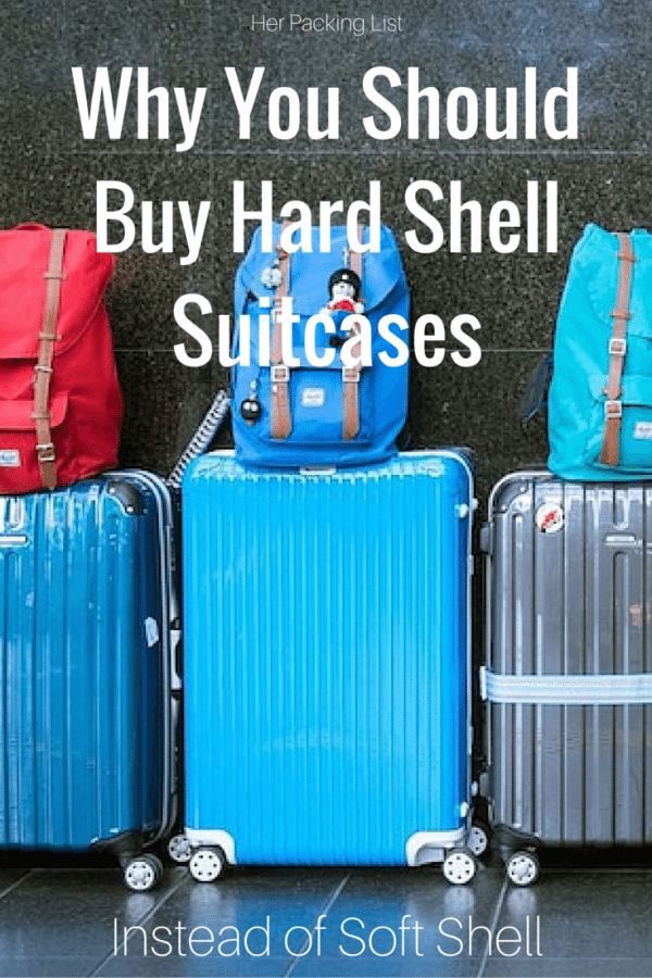 Why You Should Buy Hard Shell Suitcases