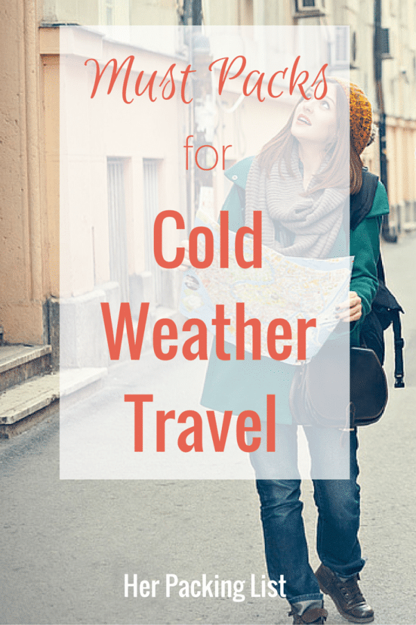 Must Packs for Cold Weather Travel