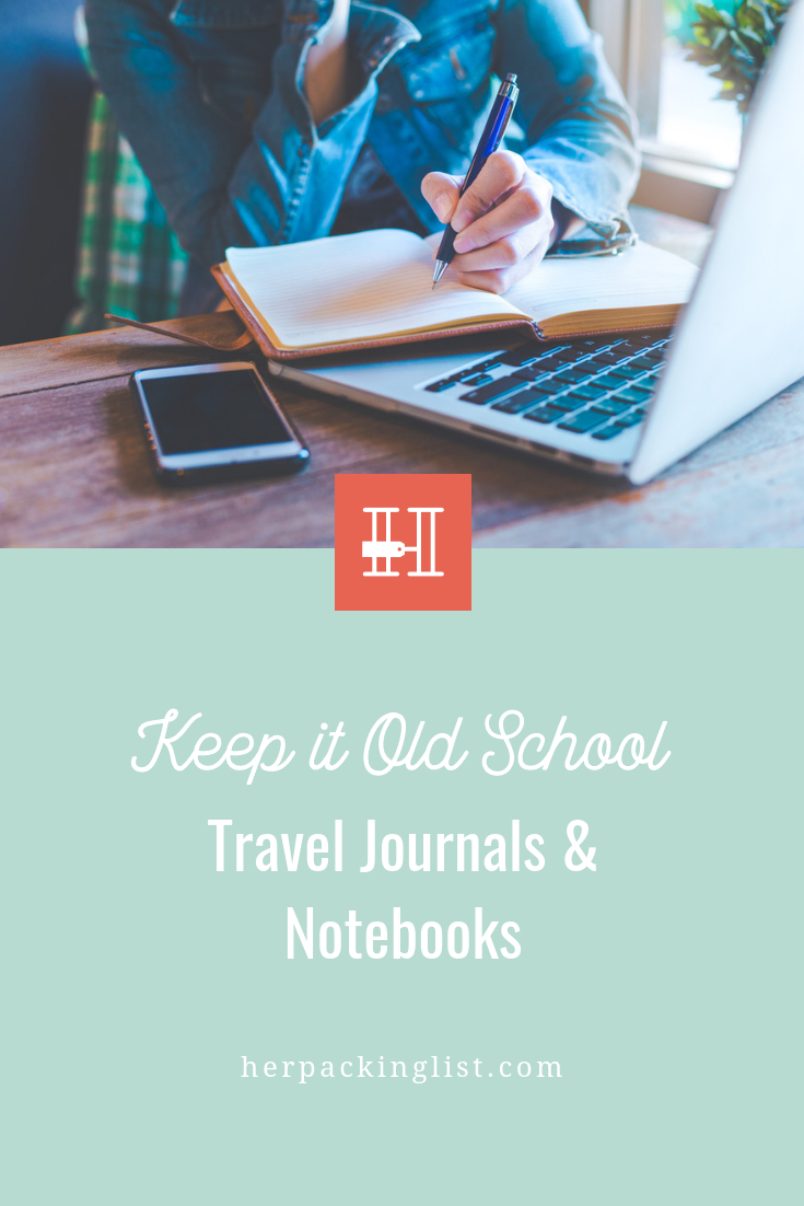 travel journals and notebooks
