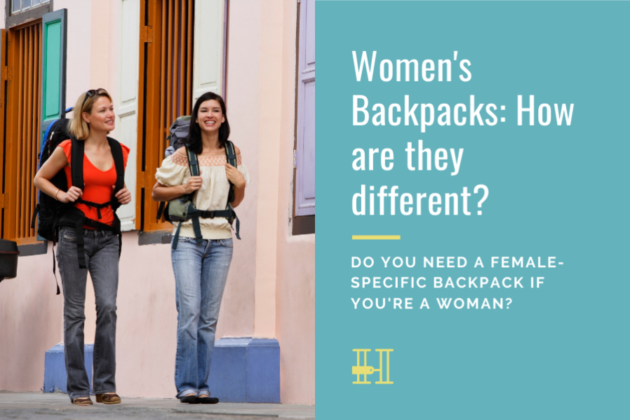 womens backpacks different from mens