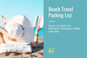 beach travel packing list