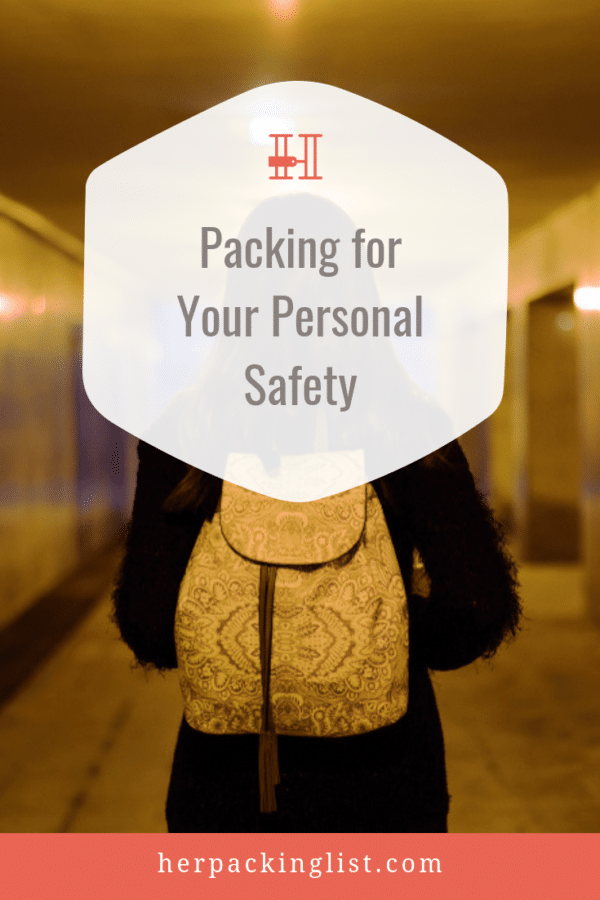 personal safety travel packing tips