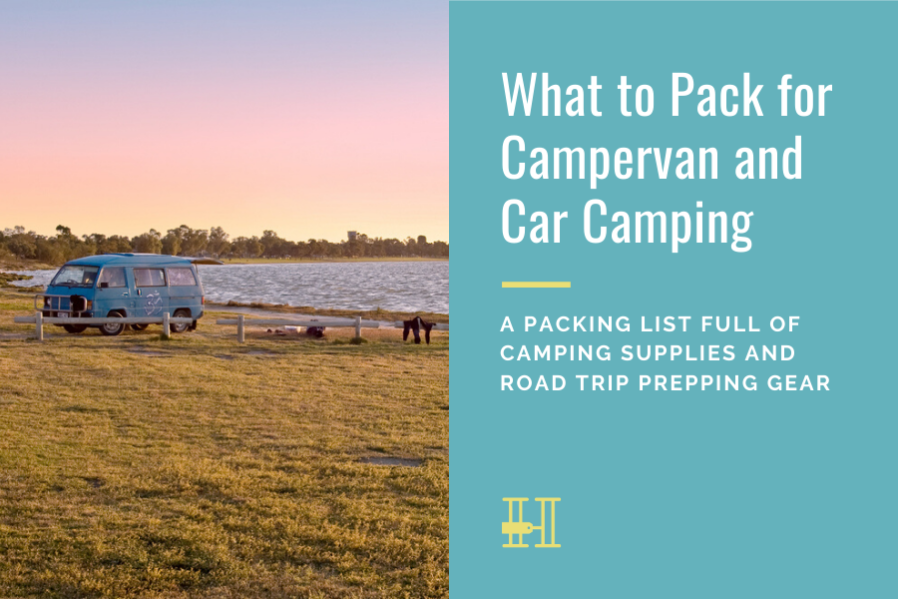 campervan car camping pack list