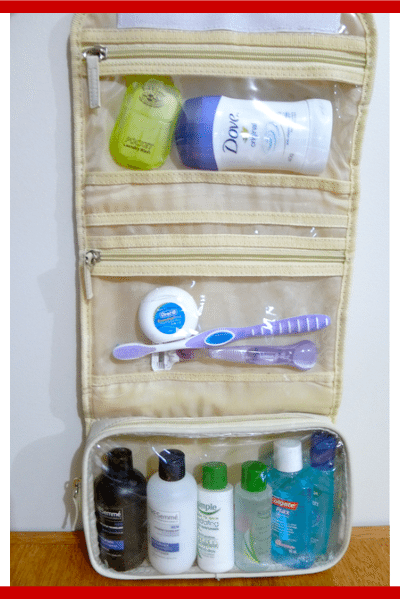 essential toiletries kit - large toiletries kit