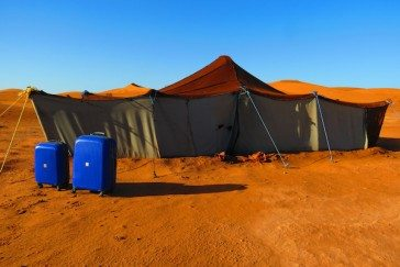 Our cases enjoy a trip to the Moroccan Sahara