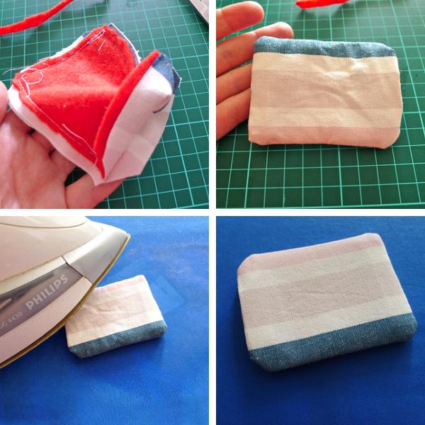 fabric luggage tag diy 2