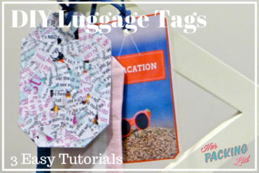 diy luggage tag tutorials