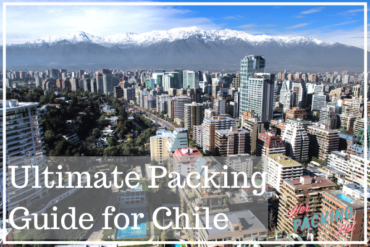 female packing list for chile