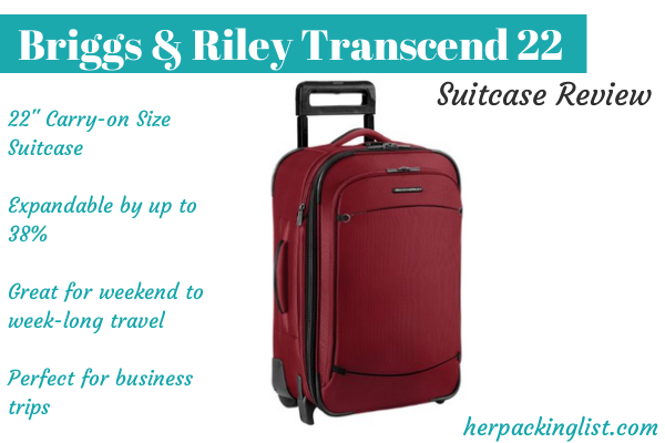 briggs and riley transcend 22 review
