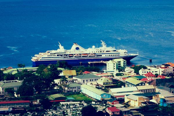 the ship in dominica