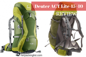 Deuter ACT Lite 45+10 backpack review