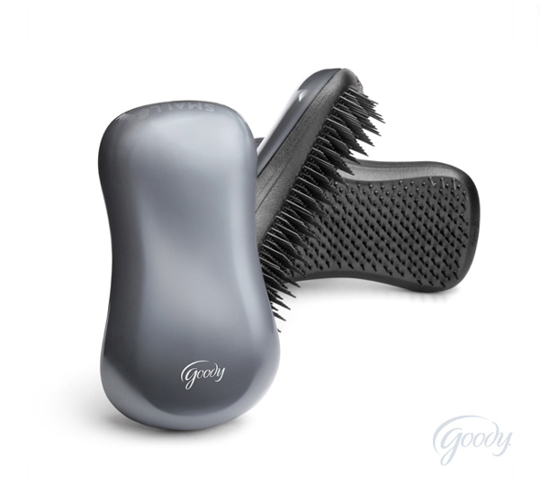 The Tanglefix by Goody - great brush for tangle management on the road