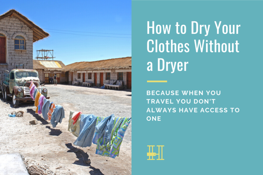 drying clothes without dryer