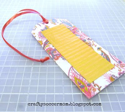 Duct Tape luggage tag