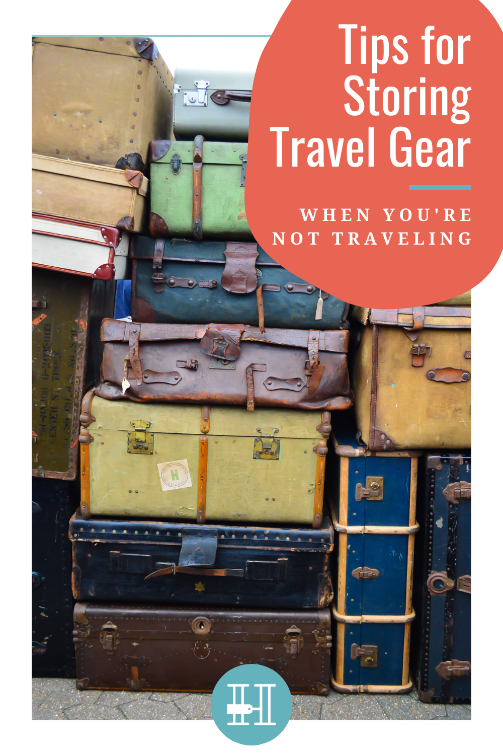 storing travel gear at home tips