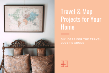 travel and map projects for your home