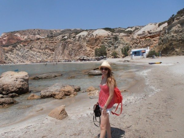 greek islands packing list - Chrysoula on Milos Island