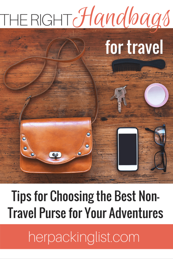 Non-Travel Handbags for Travel