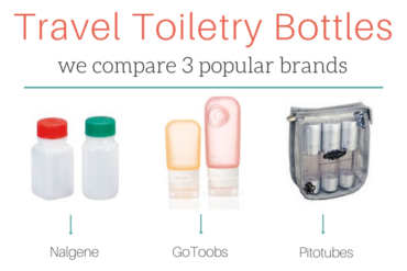Travel Toiletry Bottles Showdown