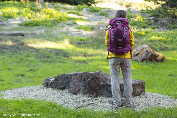 The Osprey Kyte 46 Backpack