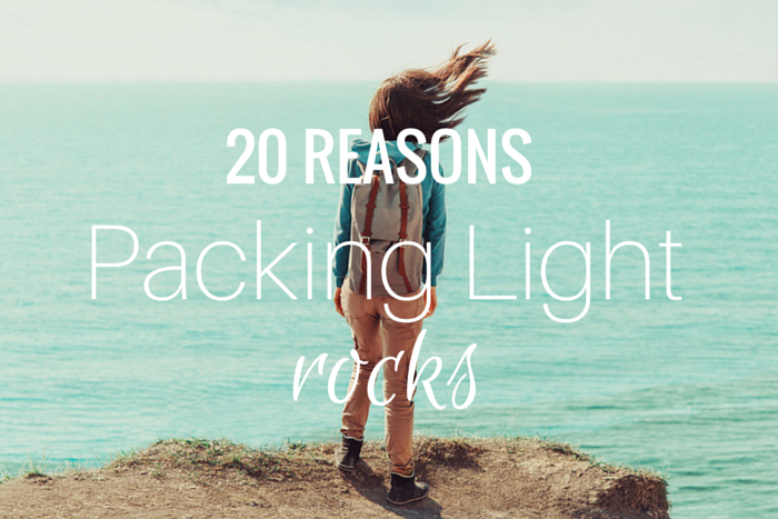 packing light benefits