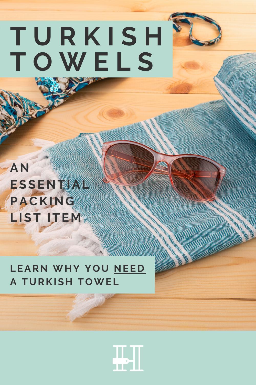 turkish towel on packing list
