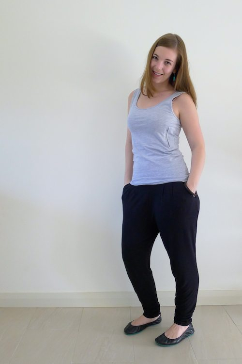 The Dressy Sweatpants review