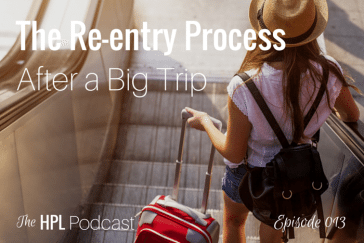 Episode 013 - The Re-entry Process After a Big Trip with Brianne Miers