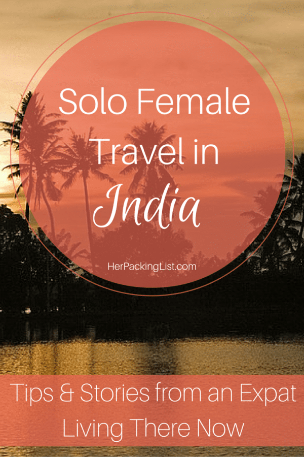 traveling alone in India as a woman