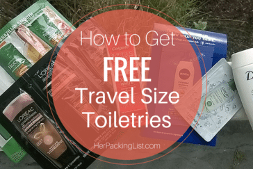 free travel size toiletries