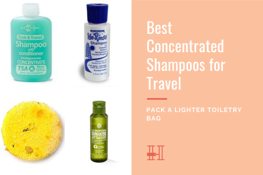best concentrated shampoos for travel