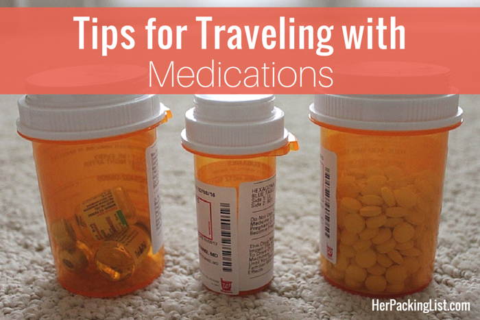 Tips for Traveling with Medications