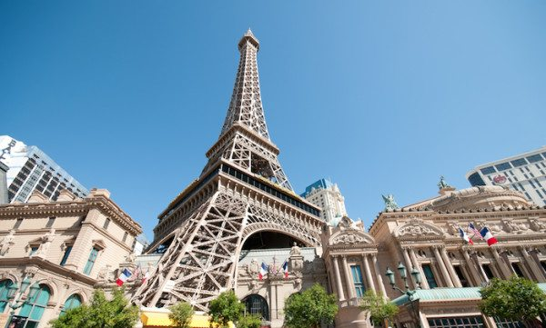 See a replica of the Eiffel Tower at Paris in Las Vegas.