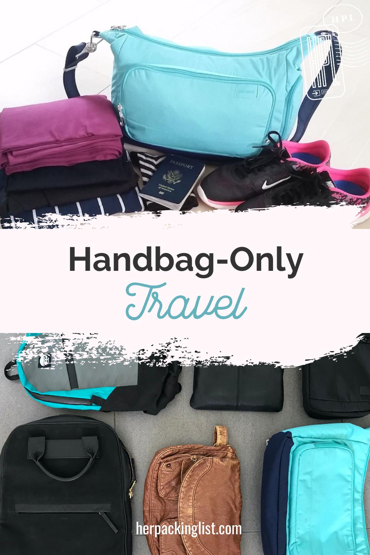 handbag only travel