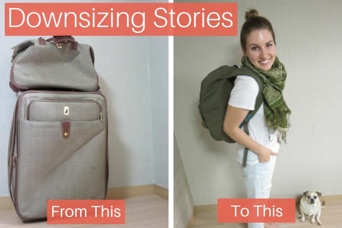 downsizing luggage story