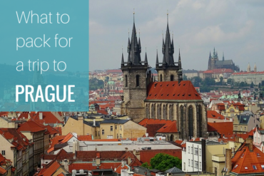 what to pack for prague