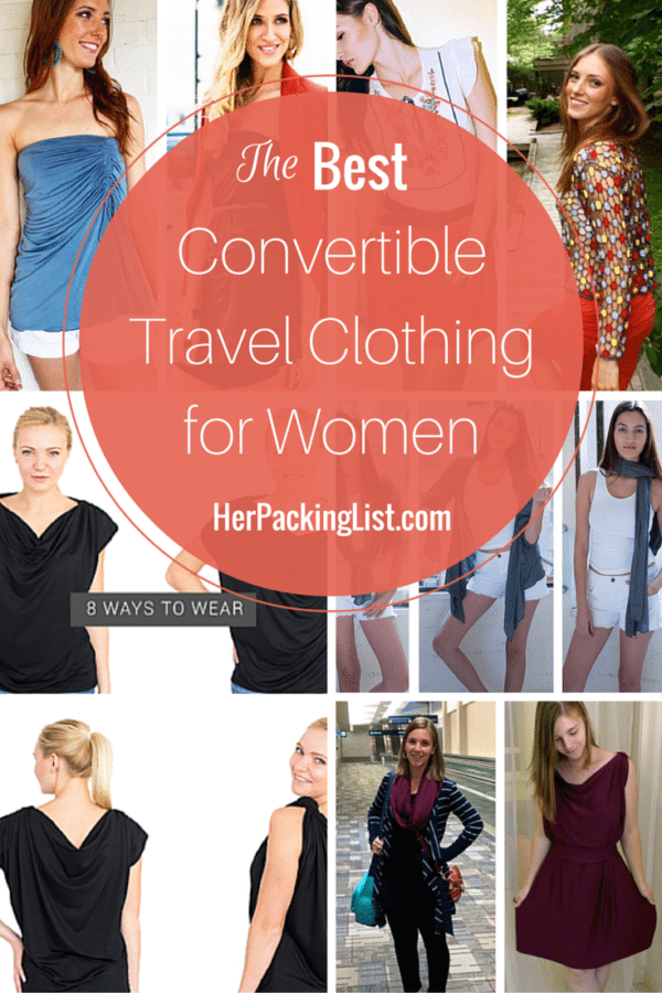 best convertible travel clothing