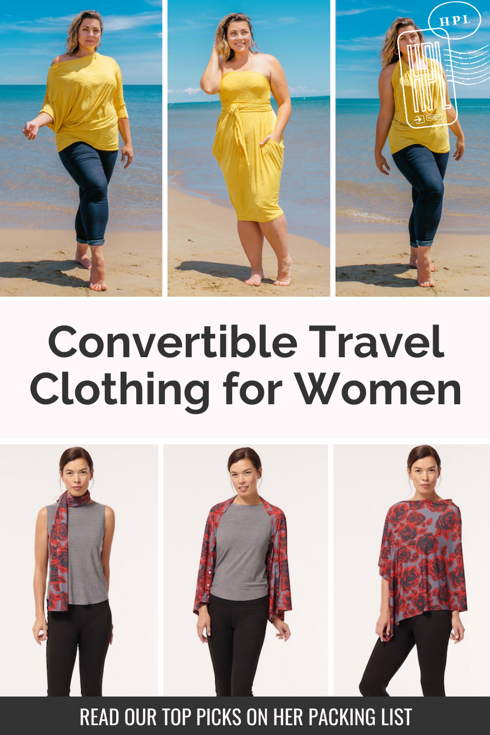 convertible clothing for travelers