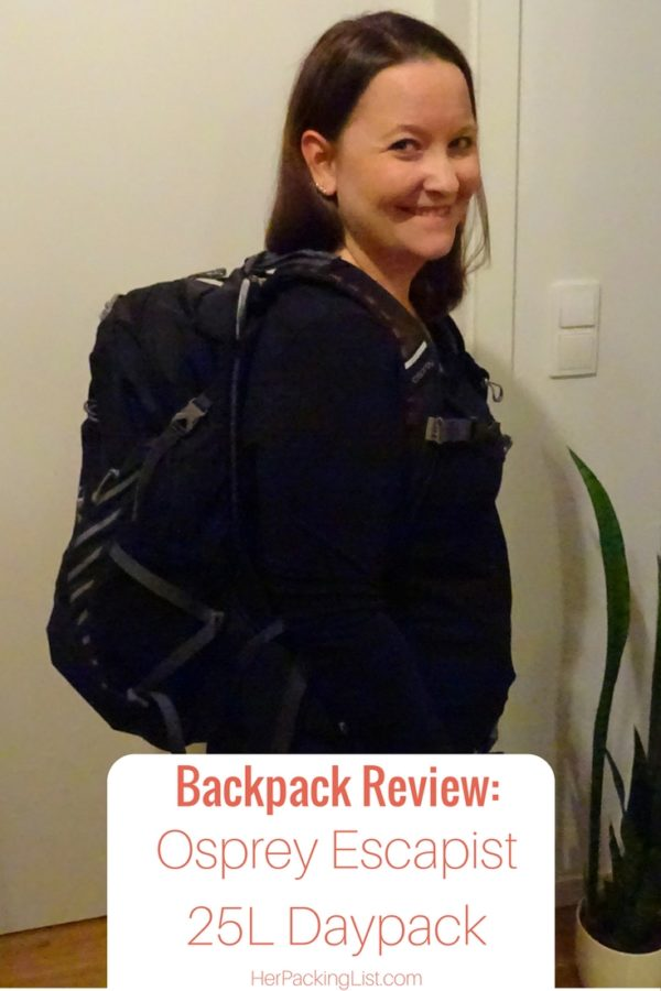 Osprey Escapist 25 backpack review