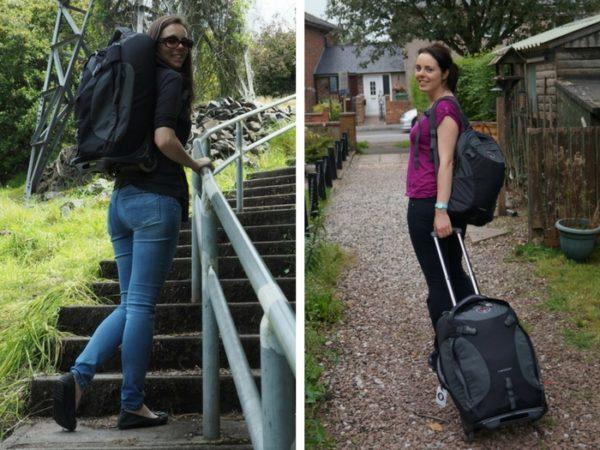 groothandel spotgoedkoop beste schoenen Meet Megan and her Osprey Meridian 60L Convertible Backpack ...