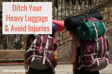 heavy luggage injuries