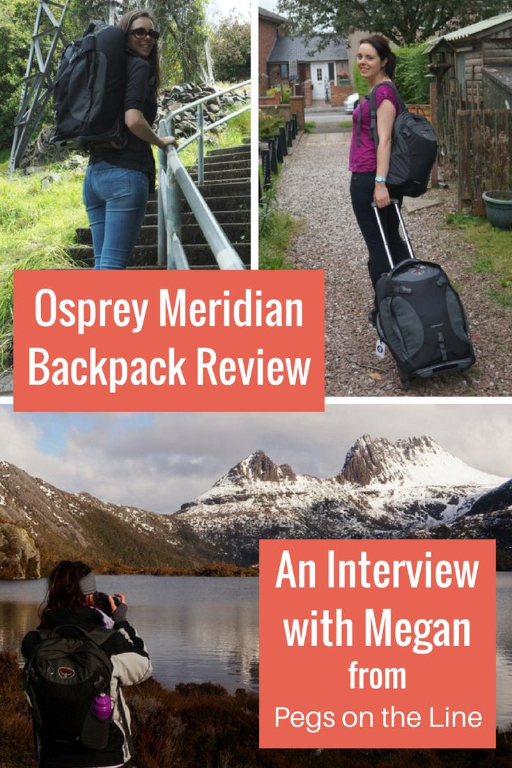 Osprey Meridian Backpack Review